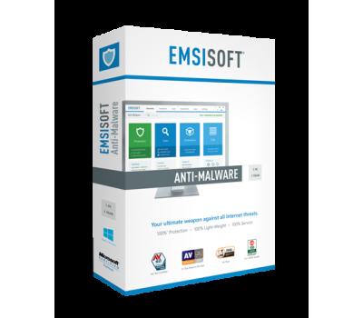 Emsisoft Anti-Malware Home для захисту домашніх ПК та Android пристроїв