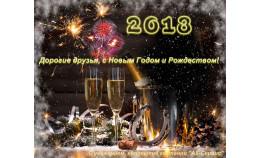 Дорогие друзья, с Новым Годом и Рождеством!